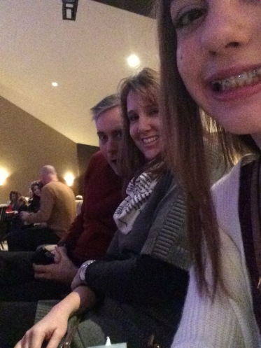 Christmas Eve Church Service Selfies