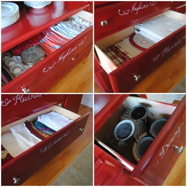 dining drawers