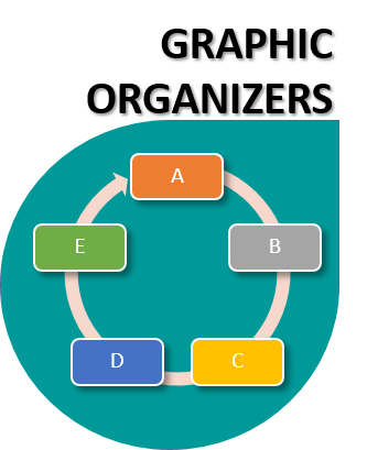 graphic organizers icon